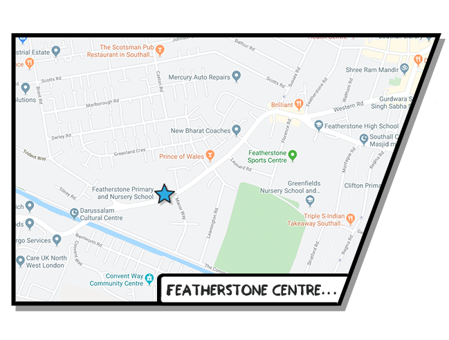 Boost Education Featherstone Map