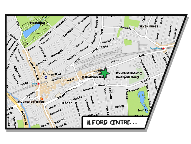 Boost Education Ilford Map