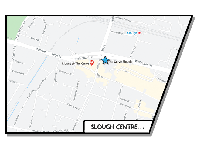 Boost Education Slough Map