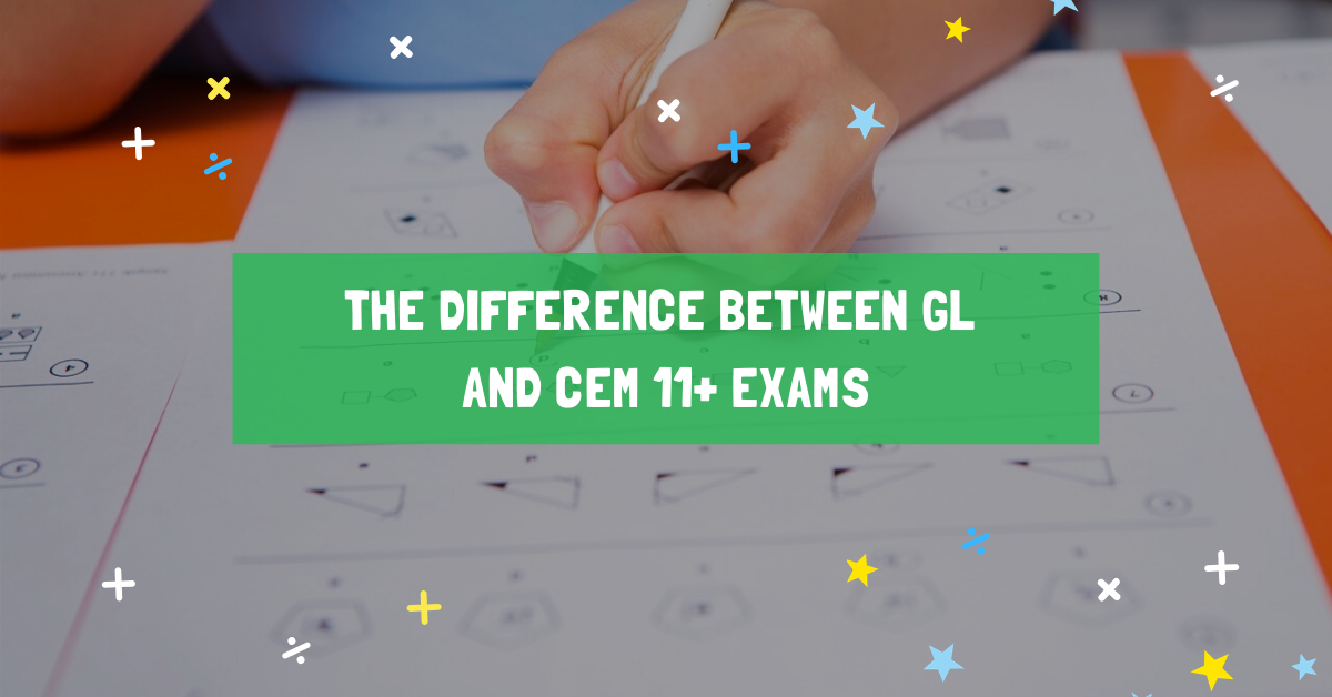The difference between GL and CEM 11+ exams