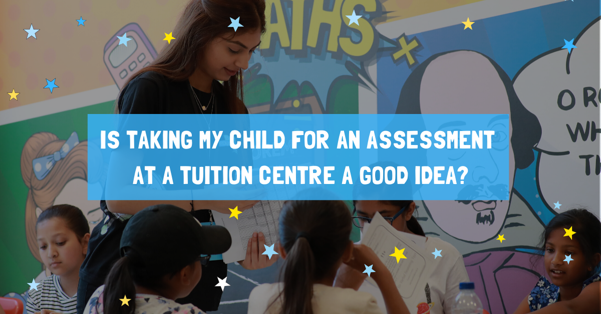 Is taking my child for an initial assessment at a tuition centre a good idea?