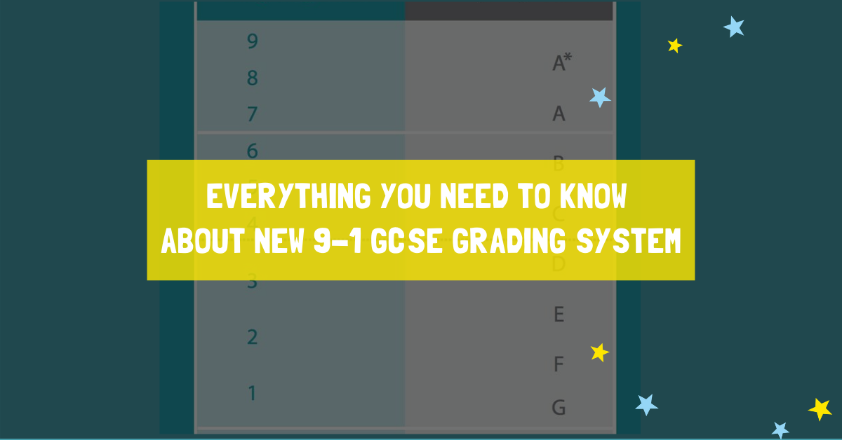 Everything You Need to Know About new 9-1 GCSE Grading System