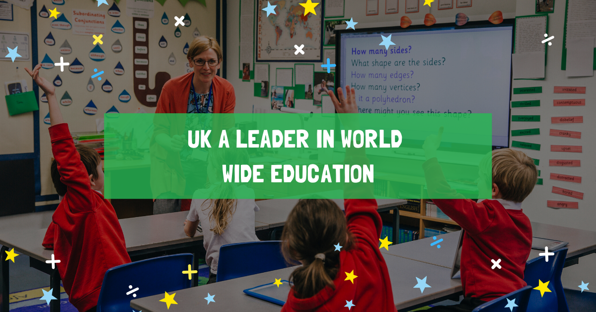UK a leader in world wide education